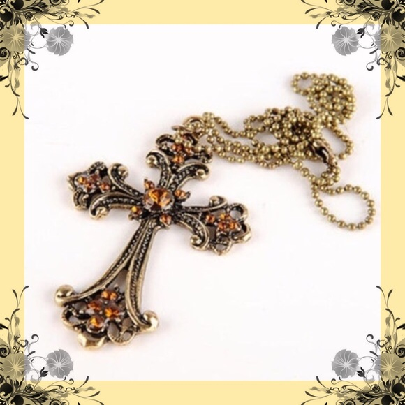 Mistyheart Jewelry - CROSS NECKLACE(N1)